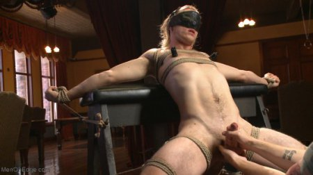 Straight surfer boy blows a huge load for his first prostate milking! (May 19, 2015)