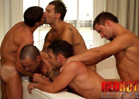 Orgy - Andy, Bruno, Felix, Gonzalo & Marcos (July 2, 2015)