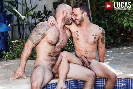 Rafael Lords Bottoms Bareback For Pedro Andreas (July 6, 2015)