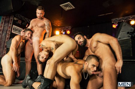 Thirst Part 4 - Abraham Al Malek, Damien Crosse, Dominique Hansson, Jimmy Fanz And Pierre Fitch 2015-10-31