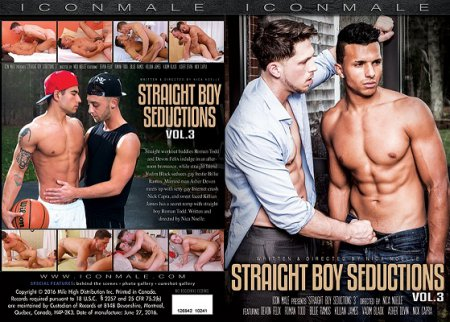 Straight Boy Seductions Vol.3 Full HD 2016 Gay DVD