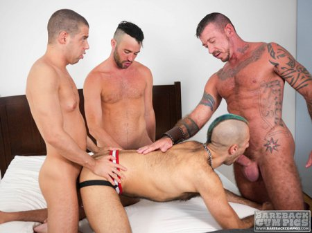 Tommy Deluca, Ray Dalton, Alex Mason And Wolvypup 2016-08-12