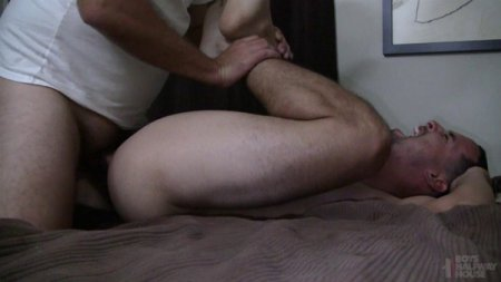 Raw Cock Makes Him Gape - Ronan