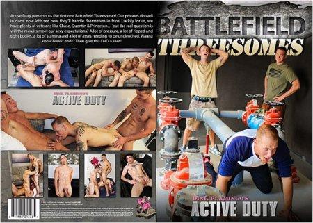 Battlefield Threesomes 2017 HD Gay DVD
