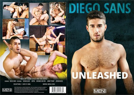 Diego Sans - Unleashed 2017 Full HD Gay DVD