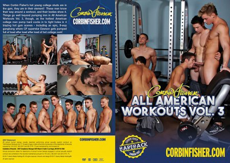 All American Workouts Vol. 3 Full HD Gay DVD 2017