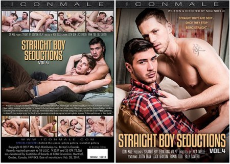 Straight Boy Seductions vol.4 Full HD Gay DVD 2017