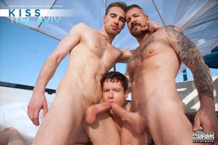 Ashley Ryder, Kayden Gray And Rocco Steele 2017-06-07