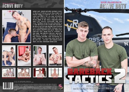 Bareback Tactics 2 Full HD Gay DVD 2017