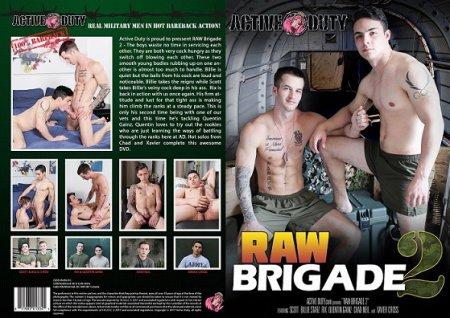 Raw Brigade 2 Full HD Gay DVD 2017