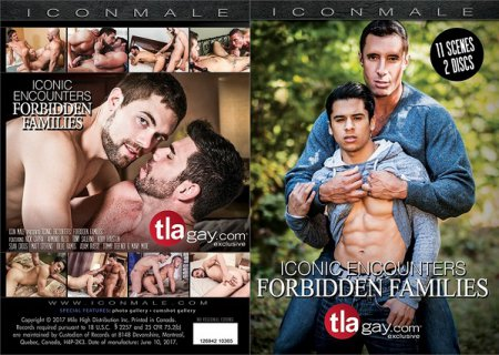 Iconic Encounters - Forbidden Families 2017 Full HD Gay DVD
