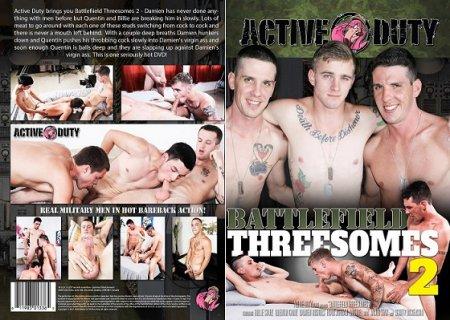 Battlefield Threesomes 2 Full HD Gay DVD 2017