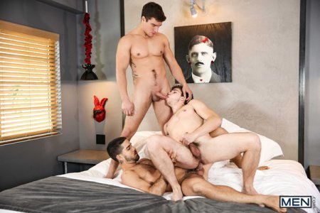 Horny Husbands - Diego Sans, Jordan Boss & Will Braun 2018-01-05