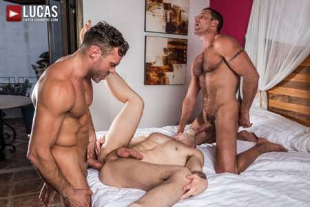 Manuel Skye And Nick Capra Double-Team Jackson Radiz Bareback 2018-01-22