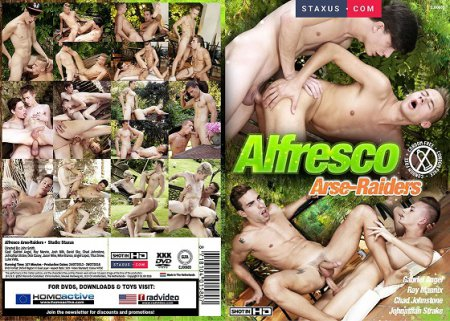 Alfresco Arse-Raiders 2018 Full HD Gay DVD