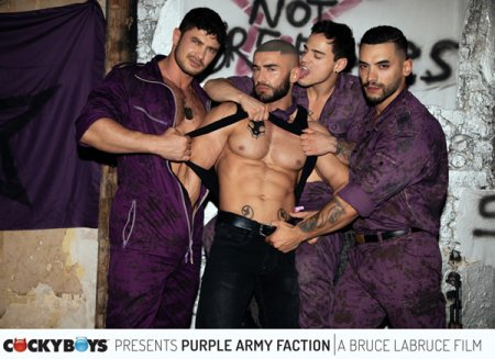 Bruce LaBruce's Purple Army Faction 2018-03-20