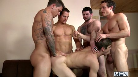 Johnny Rapid Gang Bang - Johnny Rapid, Tony Paradise, Sebastian Young, Luca Rosso & Liam Rosso [Request]