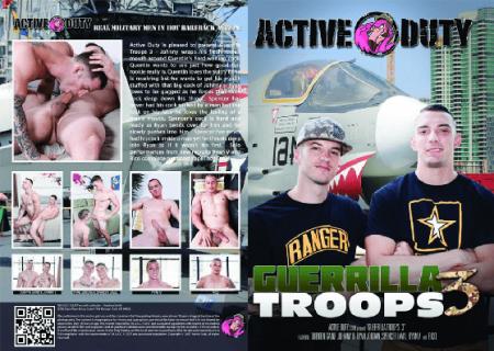 Guerrilla Troops 3 Full HD Gay DVD 2018
