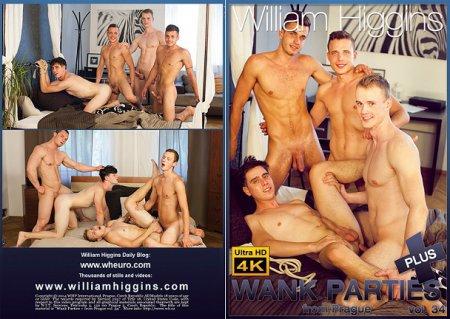 Wank Parties Plus From Prague vol.34 Full HD Gay DVD 2018