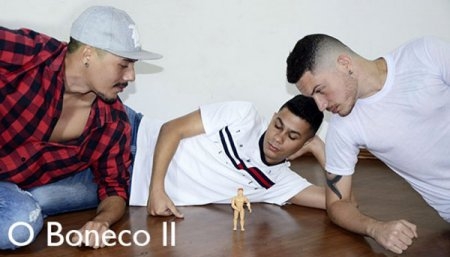 O Boneco II - Arthur, Henrique & Lorenzo 2018-07-07