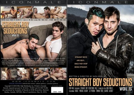 Straight Boy Seductions vol.5 Full HD Gay DVD 2018