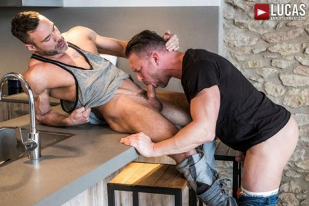 Tomas Brand And Manuel Skye Swallow Each Other's Uncut Cocks 2018-07-18