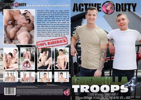 Guerilla Troops 4 Full HD Gay DVD 2018