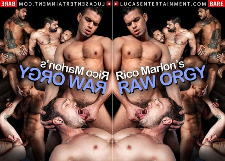 Rico Marlon's Raw Orgy 2018 Full HD Gay DVD