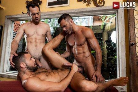 Manuel Skye, Jeffrey Lloyd & Drake Rogers - Daddy Fucking 2018-09-21