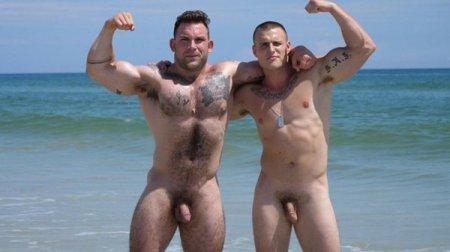 Muscle Beach 2 Part 1 - Jack & Jason 2018-08-31