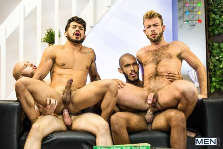 Emergency Sex Part 3 - Gabriel Phoenix, Louis Ricaute, Orson Deane & Pietro Duarte 2018-10-11