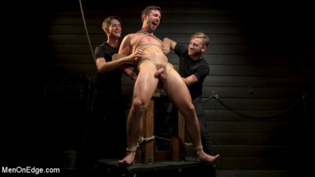 CONSTRAINED - Athletic Men Bound, Punished & Edged 2018-10-16