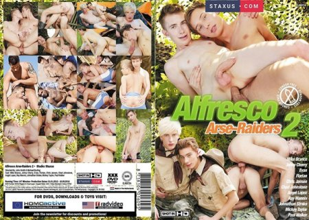 Alfresco Arse-Raiders 2 HD Gay DVD 2018