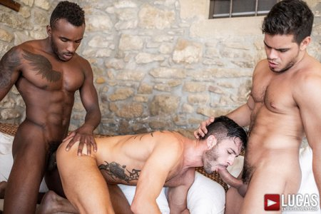 Rico Marlon, Pheonix Fellington & Andy Star - Bareback Threesome 2018-10-19