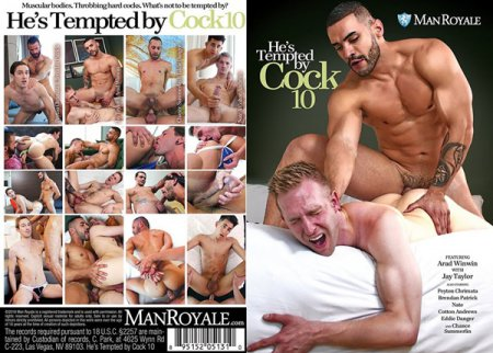 He's Tempted By Cock 10 Full HD Gay DVD 2018
