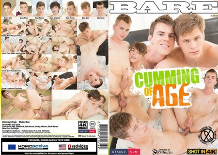 Cumming of Age 2018 Full HD Gay DVD