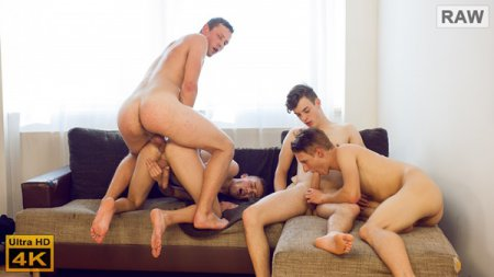 Wank Party #102, Part 2 RAW 2018-12-05