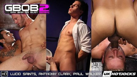 Lucio Saints, Anthony Clark & Paul Walke 2018-11-23
