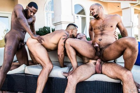 Hot Tub Foursome - Dillon Diaz, Deep Dicc, Manuel Skye & Nico Santino 2018-12-21