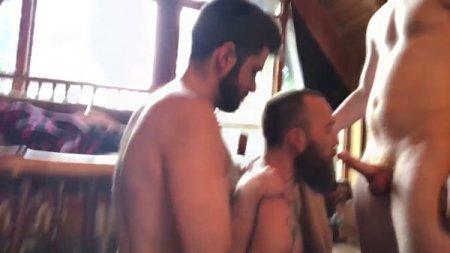 OnlyFans - RealMenFullBush Sexgroup Part 1