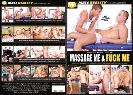 Massage Me & Fuck Me 2018 Full HD Gay DVD
