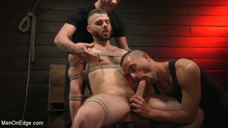 William Crown Gets His Big Hard Dick Choked And Edged 2019-01-22