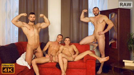 Wank Party #105, Part 1 RAW 2019-02-06