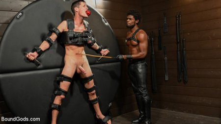 OBEDIENCE TRAINING Devin Trez Disciplines New Dog with Intense Bondage 2019-02-07