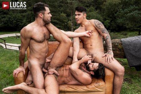 James Castle, Apolo Fire & Dani Robles - Raw Forest Fuck 2019-02-11