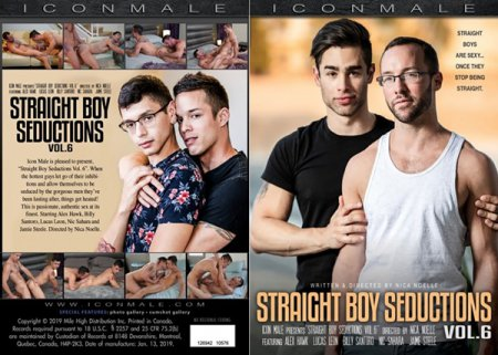 Straight Boy Seductions vol.6 2019 Full HD Gay DVD