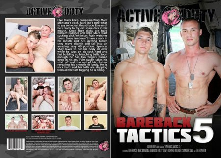 Bareback Tactics 5 2019 Full HD Gay DVD