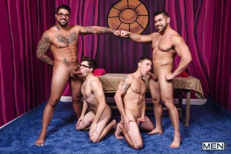 Men Bang Part 4 - Damien Stone, Justin Matthews, Ryan Bones & Will Braun 2019-03-23