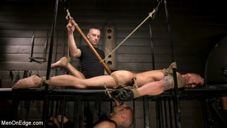 Roped In: Muscle Dom Riley Mitchell Bound and Edged 2019-04-16