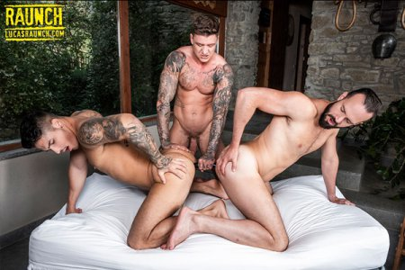 Geordie Jackson, Apolo Fire & Andy Onassis - Gay Sex Toy Submission 2019-04-18